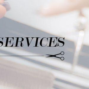 Hair Services header